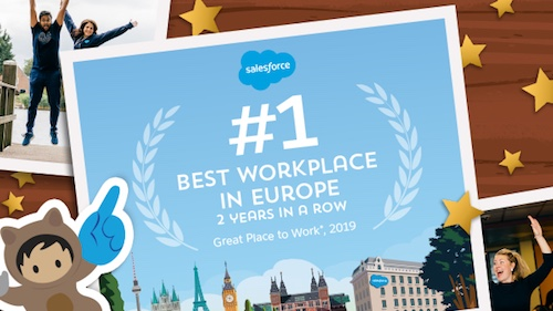 Salesforce best workplace